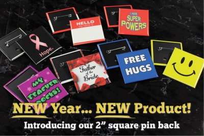 New Year...New Product. Say Hello To The 2 Inch Square!
