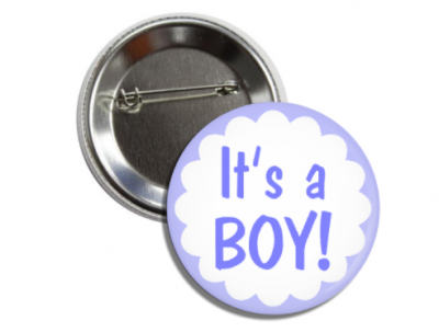 Baby Shower Buttons