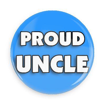 A proud uncle