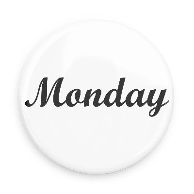 Monday Word Stop the Chaos ...