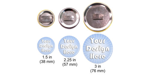 clothing shirt magnets different button sizes