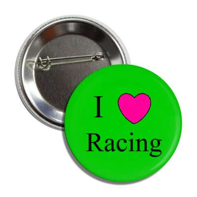 i love racing cars trucks buses heart
