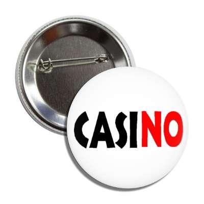 casino anti no red slash las vegas niagara falls native americans gambling gamble bet roulette cards poker slot machines