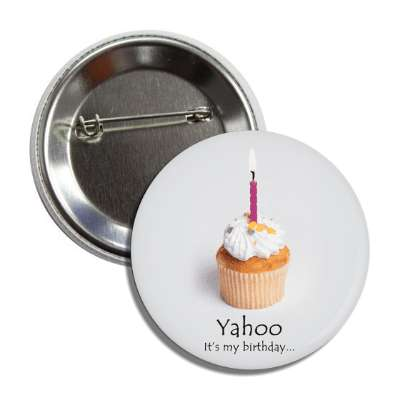 yahoo birthday cupcake candle