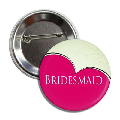 bride wedding marriage ceremony bridal button pin love