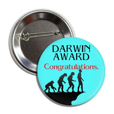 darwin award trophy congratulations winning win first place medal recognition
