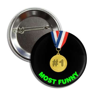 #1 most funny award trophy congratulations winning win first place medal recognition