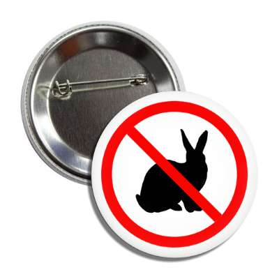 no rabbits bunnies