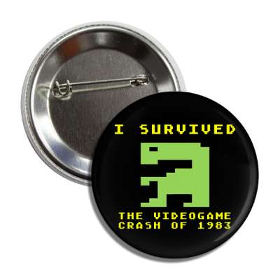 et i survived the videogame crash of 1983 8 bit retro vintage arcade atari 2600 800 midway arcades videogames videogame pac man pacman game games fun 80s 1980 nostalgia