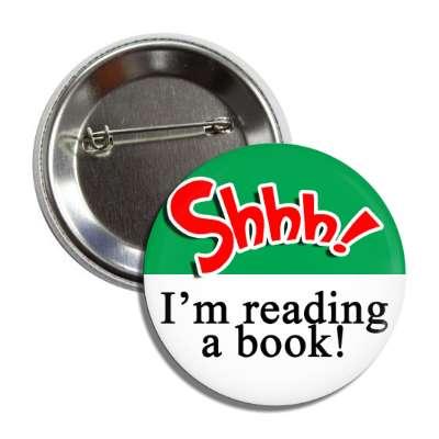 shhh im reading a book education school elementary kindergarten books teacher student homework math english science art apple library librarian
