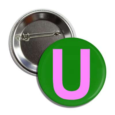 letter u upper case alphabet letters roman english american language characters