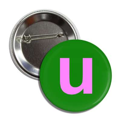 letter u lower case alphabet letters roman english american language characters