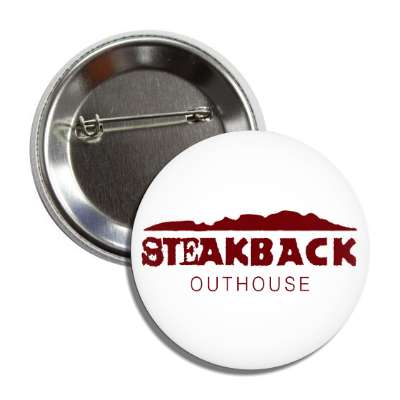 steakback outhouse outback steakhouse parody parodies funny sayings hilarious corporate logo mockery
