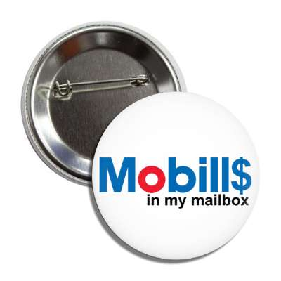 mobills in my mailbox mobil gasoline gas parody parodies funny sayings hilarious corporate logo mockery