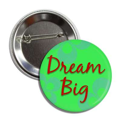 dream big two words funny sayings goofy silly novelty campy hilarious fun