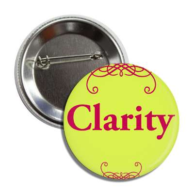 clarity one word encouragement inspiration inspiring motivational confidence affirmations affirmation