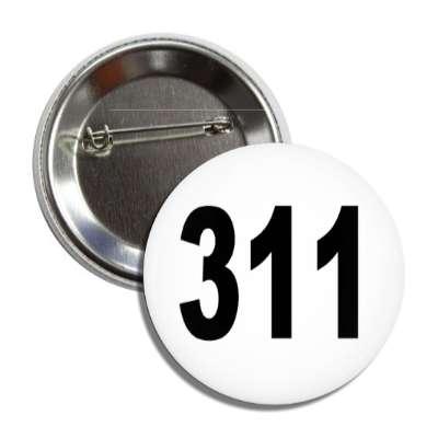 number three hundred eleven 311 math plain number
