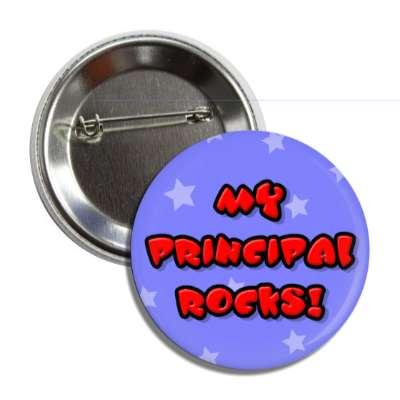 my principal rocks education school elementary kindergarten books teacher student homework math english science art apple library librarian
