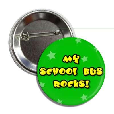 my school bus rocks education school elementary kindergarten books teacher student homework math english science art apple library librarian