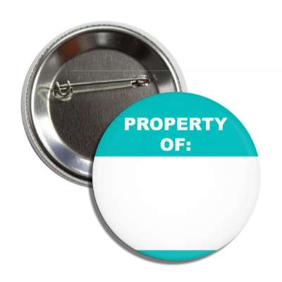 property of fill in the blank marker name tag nametag welcome ice breaker