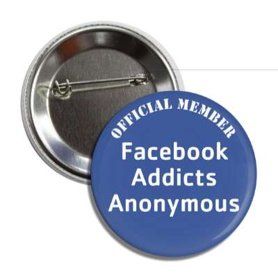 official member facebook addicts anonymous social network geek humor facebook twitter pinterest myspace