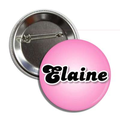 elaine common names female custom name button