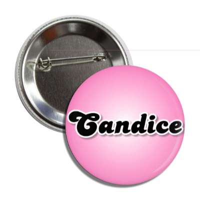 candice common names female custom name button