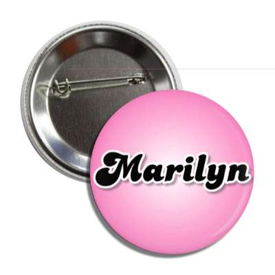 marilyn common names female custom name button