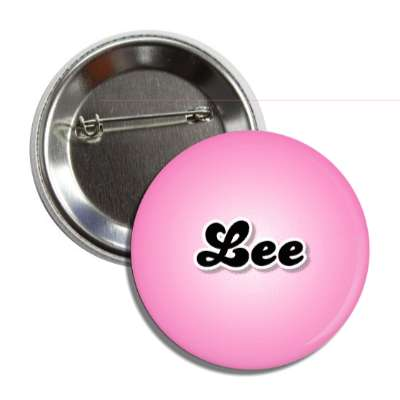 lee common names female custom name button