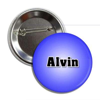 alvin common names male custom name button