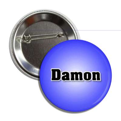 damon common names male custom name button