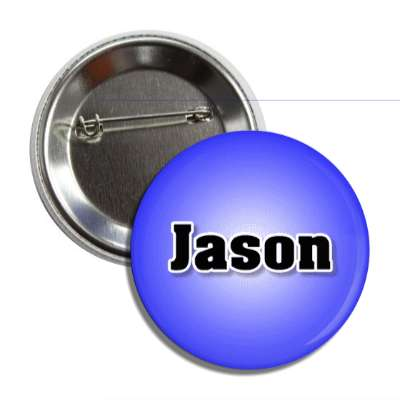 jason common names male custom name button
