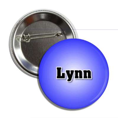 lynn common names male custom name button