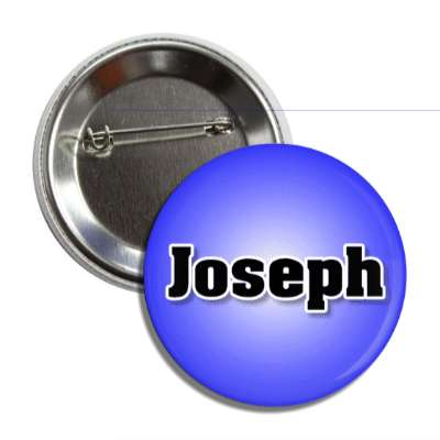 joseph common names male custom name button