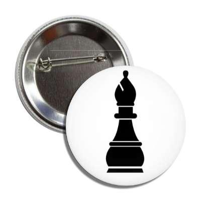 black bishop chess piece board game fun
