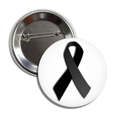 black awareness ribbon,cancer awareness,black ribbon