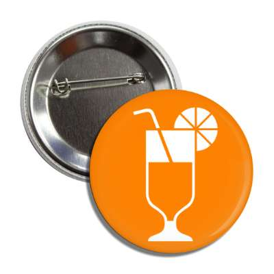 orange juice glass fancy drink symbol icon symbolism