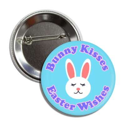 Bunny Kisses Easter Wishes, happy easter, easter bunny, holiday, bunny, rabbit, egg, sunday, jesus resurrection