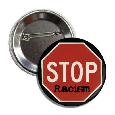 racism hatred skin color black white no anti stop red slash