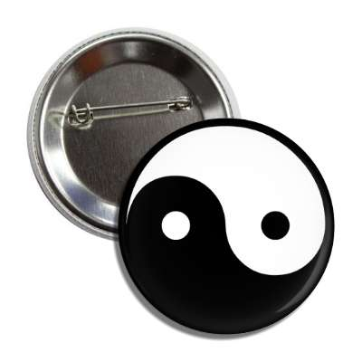 ying yang symbol china chinese black white