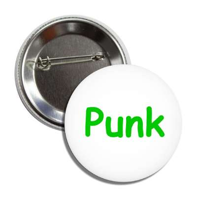 punk one word