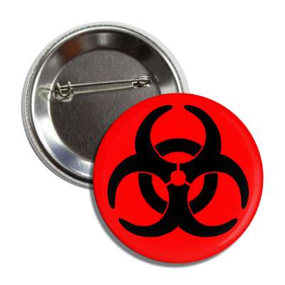 red black biohazard symbol death plague virus bacteria disease government lab lair