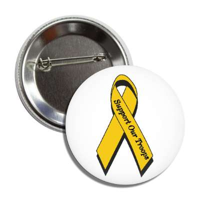 support our troops american pride gold yellow ribbon war army military navy marines air force fight battle nationalism