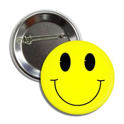happy smile face button