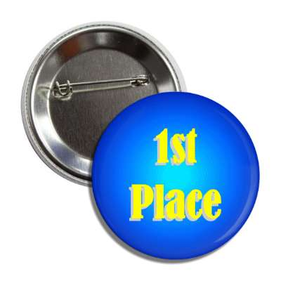 1st place blue aqua button