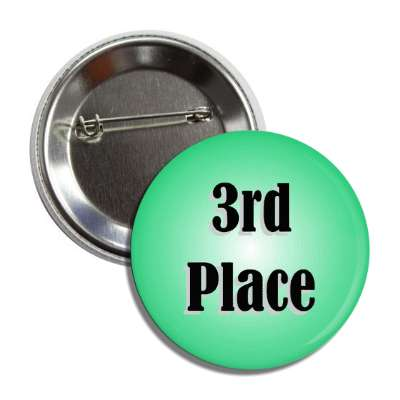 3rd place green button