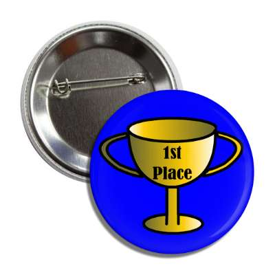 trophy 1st place blue button