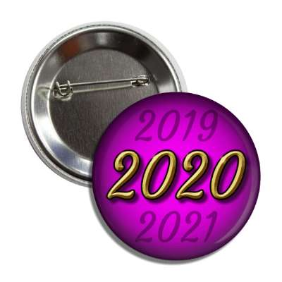 2020 new year purple button