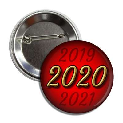 2020 new year red button
