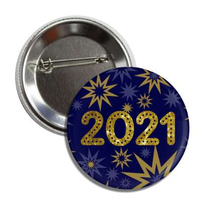 2021 bursts blue button